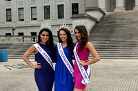 Beauty Queens promote Miss Teen, Miss & Mrs. International