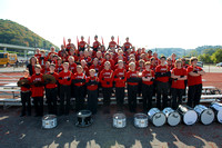2014 WV Marching Band Group Photos
