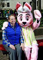 Easter Bunny Photos from Easter Carnival 2018