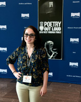 Grafton's Jamie Dotson at WV Poetry Out Loud